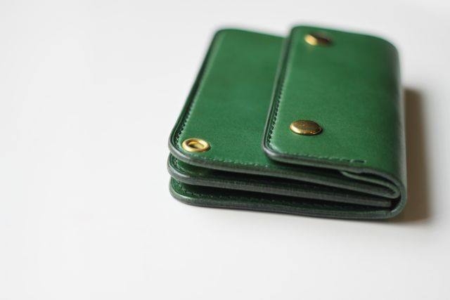 short TRUCKER WALLET グリーン