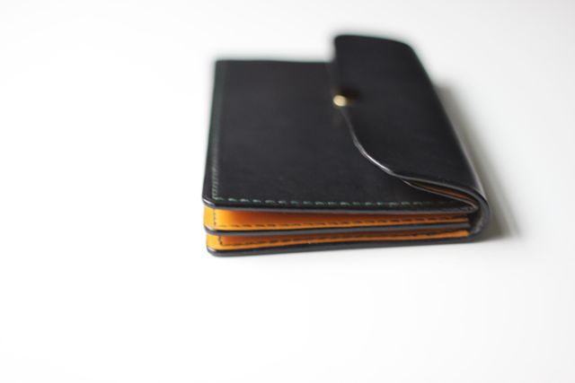 test sample long wallet