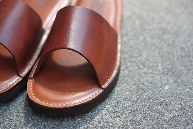 leather shower sandals『R3FACTORY VINTAGE』追加