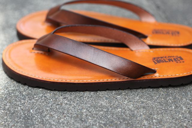 leather beach sandals『R3FACTORY VINTAGE』追加
