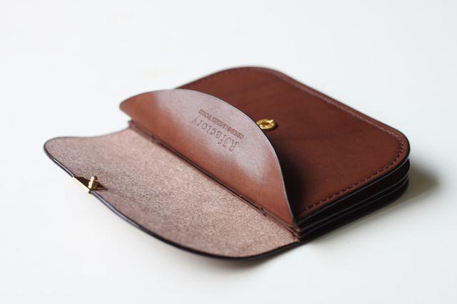 『mimosa wallet』サドルレザー2点追加しました