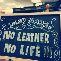 NO LEATHER  NO  LIFE