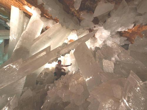 水晶 洞窟