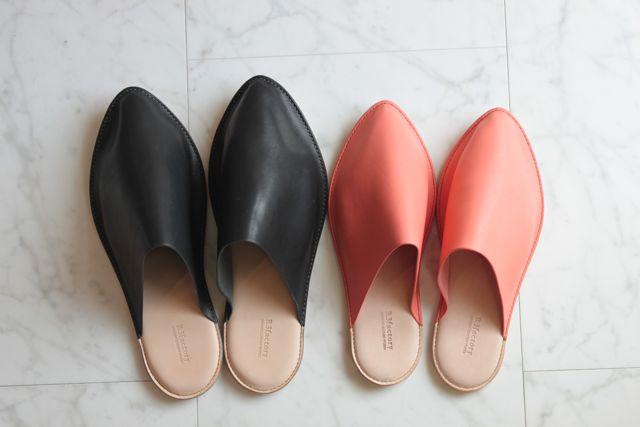 新商品 Leather Slipper