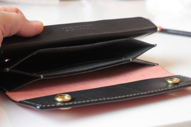 test sample TRUCKER WALLET
