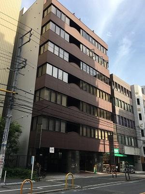 事務所の入居する第2中田ビル