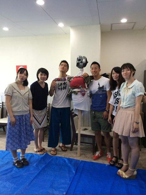第4期「19歳の酒」田植え-案山子作り-案山子設置完了!!
