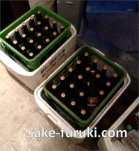 大阪府吹田市 自治会総会後の懇親会会場へ冷えた瓶ビールや飲料など配達