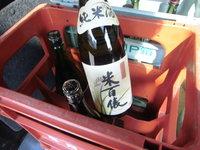 日本酒も配達いたします 北摂吹田市