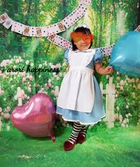 子供 参加 変身 アリス レンタル 手作り ワーク 写真 arori happiness (アロリハピネス)