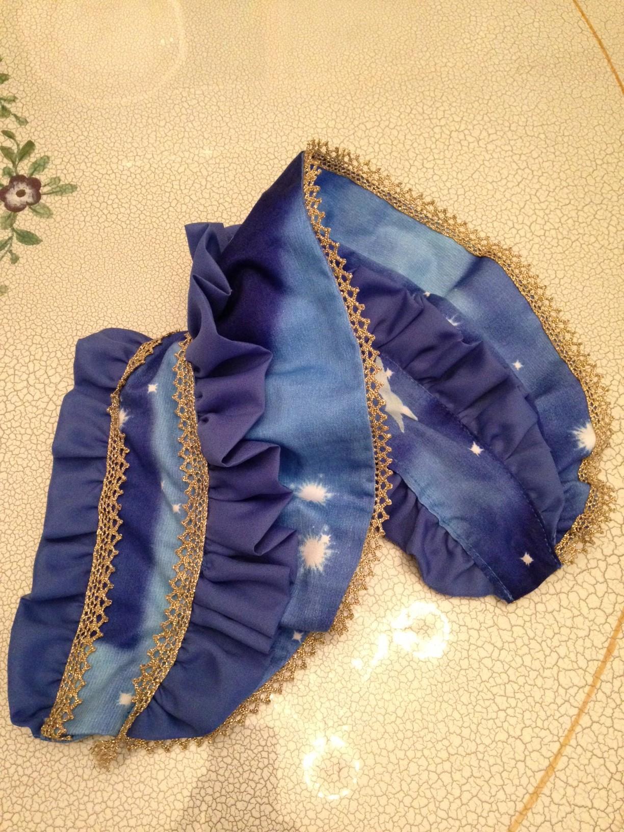 手作り ロリータ ゴスロリ生地で 姫袖ドレス ハーフボンネットを作るぞ!!大阪 コスプレ体験 場所