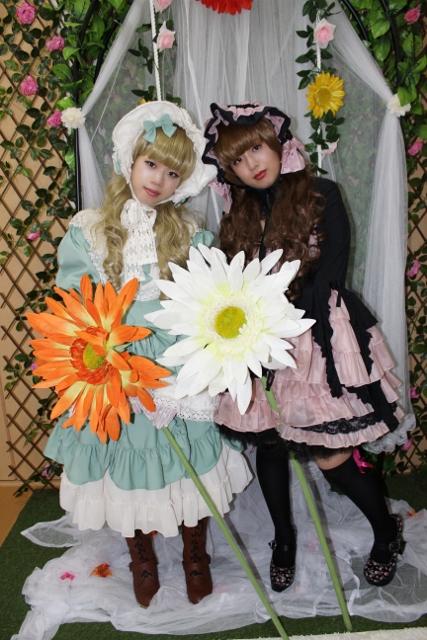 先日のお客様 クラシカルロリータ&ゴスロリ 大阪 格安変身写真 ミラクルチェンジ
