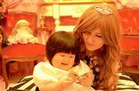 ママと子供の変身写真☆大阪北摂変身写真サテライトドア