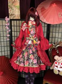 和ロリ 和ロリータ アンティ―ク レトロ モダン 和服 着物 体験 京都 レンタル 衣装