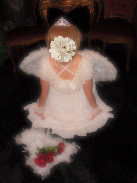 昨日のお客様変身写真☆天使と王子☆大阪 変身写真サテライトドア