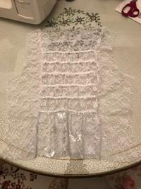 ハンドメイド 姫袖 ブラウス レース フリル ロリィタ ゴスロリ ドレス 手作り コスプレ