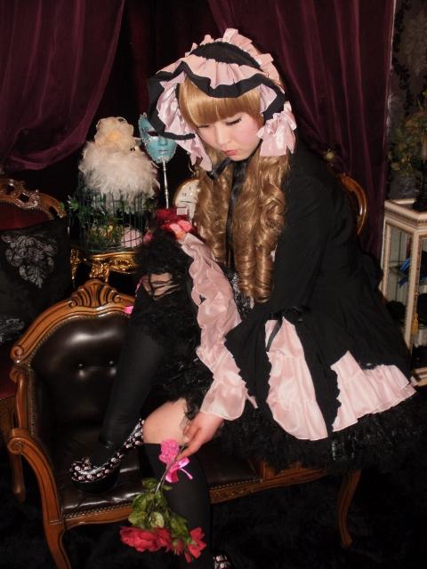 お客さま変身写真☆ゴスロリ&王子☆大阪コスプレ体験ゴスロリ体験