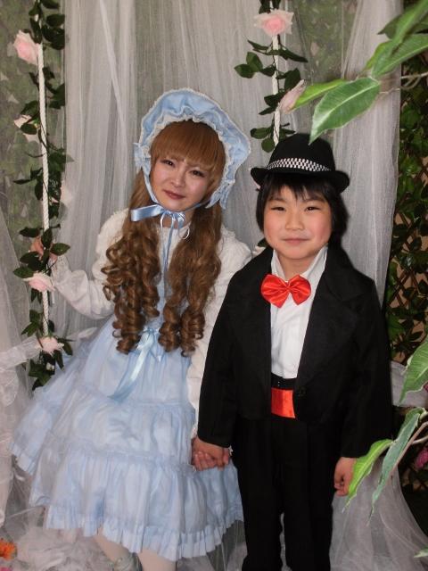 ママと子供の変身写真 男の子編~豊中市変身写真撮影サテライトドア~