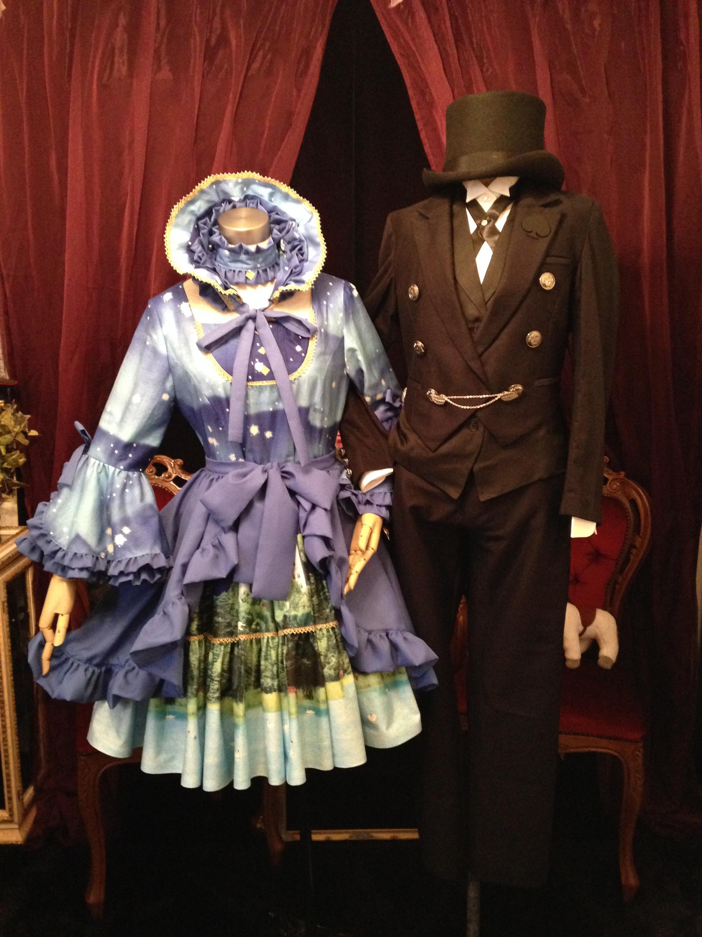 男装 ゴスロリ ロリータ ハロウィン コスプレ ドレス体験記念館 写真スタジオ 大阪