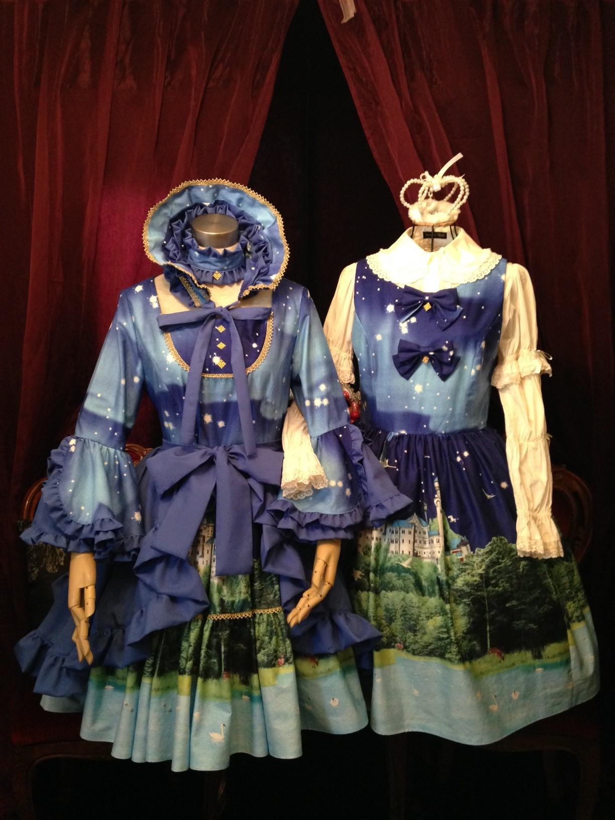 原宿ドールズ ゴスロリ生地でロリータジャンパースカートを作ろう ロリータ体験 コスプレ体験