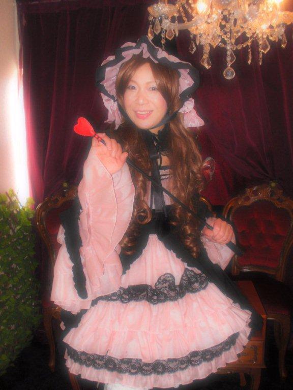 本日のお客様変身写真☆メイド・ウエディングドレス・ゴスロリ体験