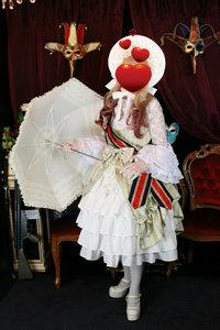 お客様変身写真❤エシャルプ付き お姫様ロリータドレス