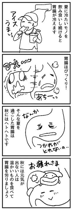 東洋医学 秋バテ 脾
