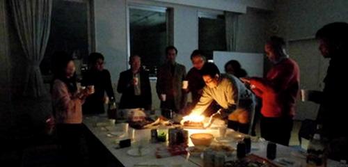 手作りサロン+年末懇親会を開催しました!(12/21)