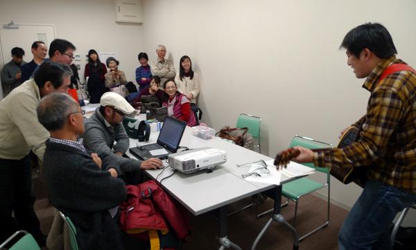 キャンドル部会〔2013年度最終〕を開きました!(1/18)