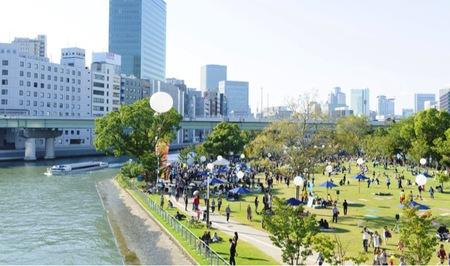 水都大阪(中之島公園)