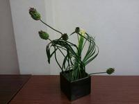 4月研究会〜見せない見えない技術を駆使して「草もので造形る」〜