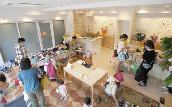 子ども服リサイクル会開催レポート