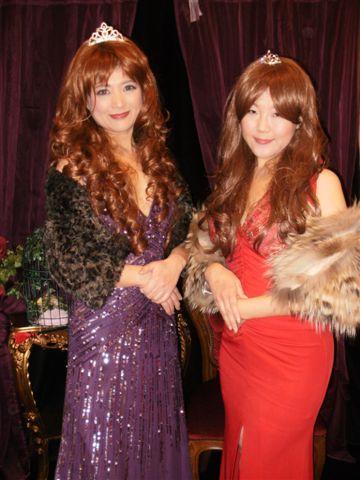 ロリータ体験サロン キャバ嬢とロリータ お客様変身写真