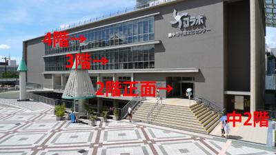 千里文化センター「コラボ」の階数は!