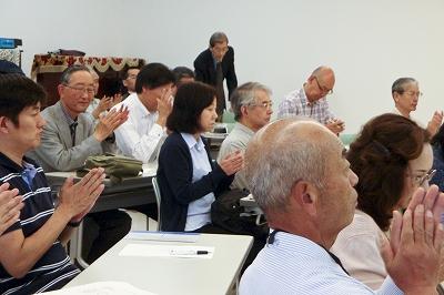 平成25年度定期総会を行いました。(5/18)