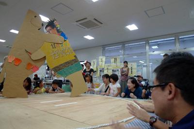ラコルタ1周年「大紙相撲大会」に参加しました!(9/15)