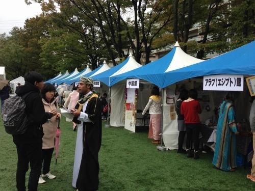 留学生交流イベント「せんぱく」に参加しました!(10/20)