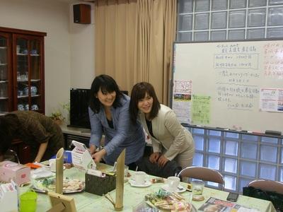 ガーネットみやぎの澁谷さんが佐竹台サロンに来て下さいました!