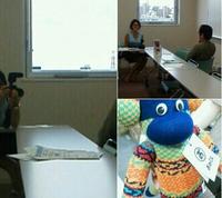 東北支援団体のドキュメンタリーの取材