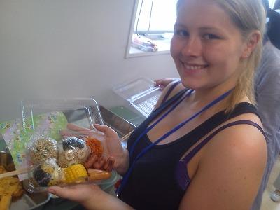 留学生さんとお弁当を作った日