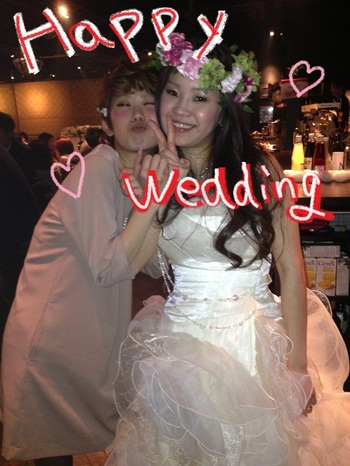 5/12 happy wedding...