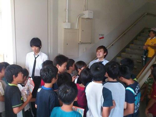 小学生に米の炊き方を教える仕事with祇園
