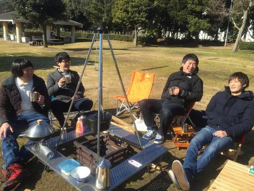 世田谷燻製会!~燻製×焚き火×日本酒~
