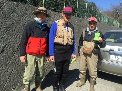 桂川で渓流釣り!そしてそれをバーべする