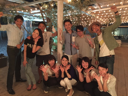 J-WAVE企画!別所哲也さん&リスナーさんとBBQ!