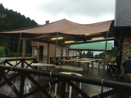雨の日でもBBQ出来る!滋賀県栗東市「こんぜの里」