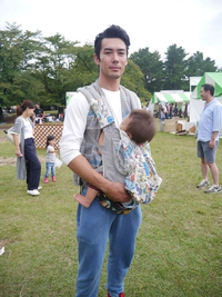 ☆ロハスフェスタにはイクメンパパも来てマース☆