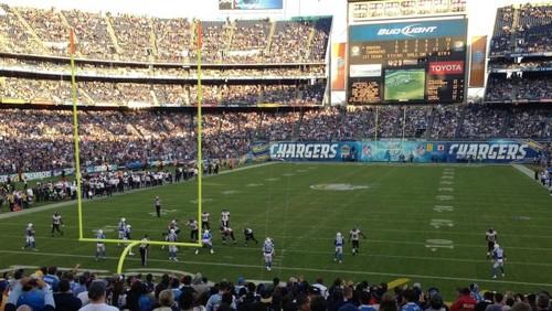 2012 NFL Week12 レイブンズvsチャージャーズ
