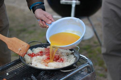 BBQパエリアの作り方!