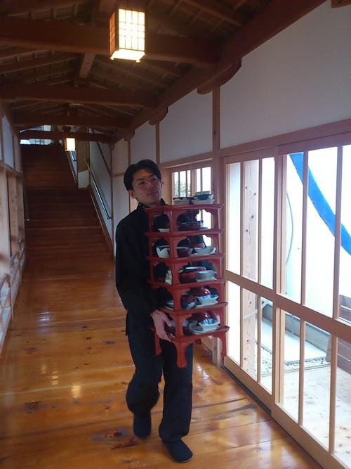 高野山で宿坊のお手伝い